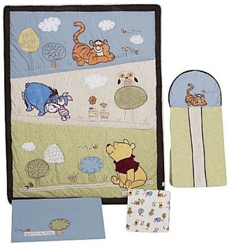 Disney Winnie the Pooh Friendship 4-Piece Crib Set