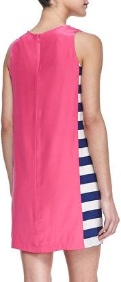 Amanda Uprichard Wayfair Side-Stripe Shift Dress