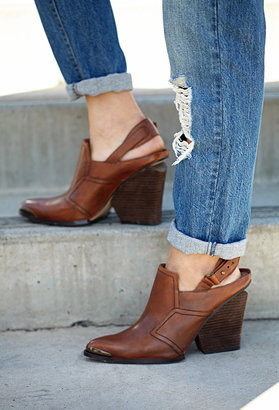 Forever 21 rustic slingback booties