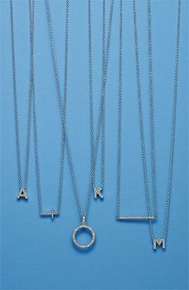 Nordstrom Women's Bony Levy Diamond Bar Necklace Exclusive)