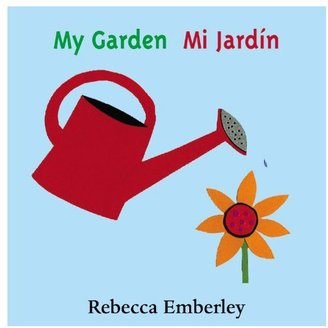 My Garden Board Book, Spanish)