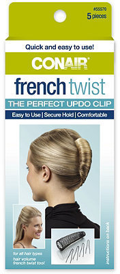 Conair French Twist Up-Do Clip 5 Pc. Kit