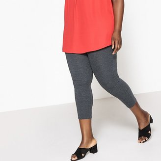 """La Redoute Collections Plus Cropped Leggings, Length 21.5"""""""