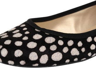 French Sole Shoes Gale in Black/White Spot