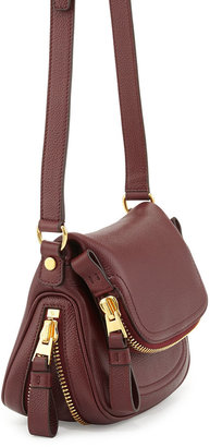 Tom Ford Jennifer Mini Calfskin Crossbody Bag, Red