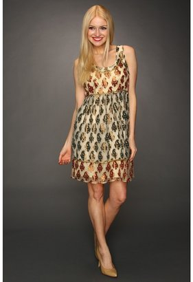 Free People Holiday Party Dress (Champagne Combo) - Apparel