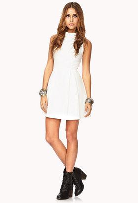 Forever 21 Glam Dot A-Line Dress