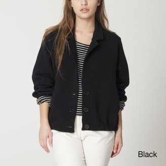 American Apparel Women's Ribbed Jacket $77.99 thestylecure.com