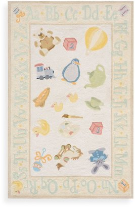 Momeni 'Lil Mo Classic LMI-02 Pale Yellow Area Rug - 5-Foot x 7-Foot