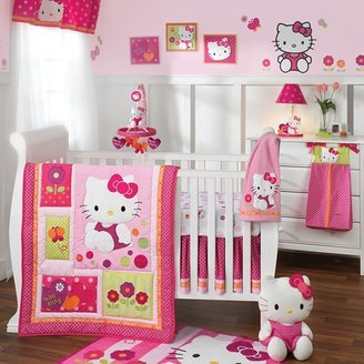 Hello Kitty garden bedding coordinates by lambs & ivy