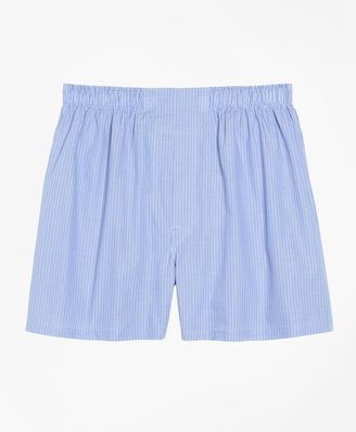 Brooks Brothers Traditional Fit Pencil Stripe Boxers