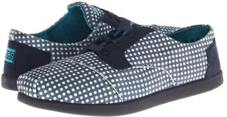 Skechers Bobs World Polka (Navy/White) - Footwear