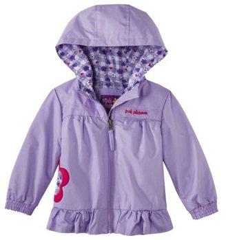 Pink Platinum Infant Toddler Girls' Applique Jacket