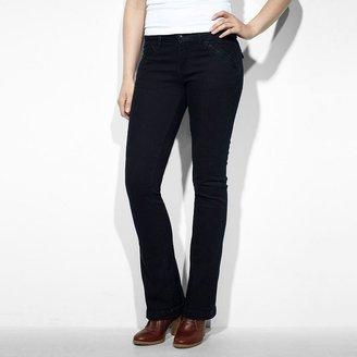 Levi's demi curve id skinny bootcut jeans