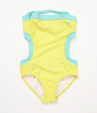 Roxy Girls 7-14 Halter Monokini