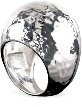 Ippolita Classico Statement Sterling Silver Hammered Dome Ring