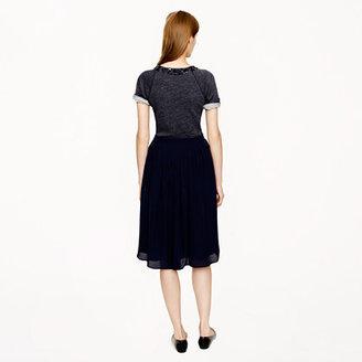 J.Crew Silk georgette skirt