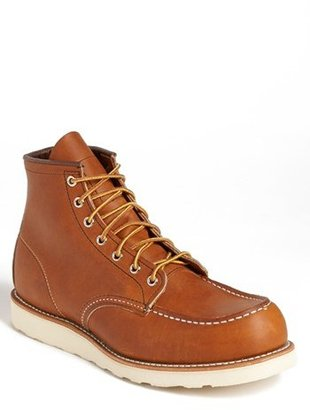 Men's Red Wing '875' 6 Inch Moc Toe Boot $270 thestylecure.com