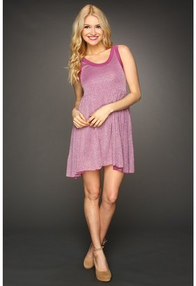 Free People Beach Cruise Town Dress (Berry/Silver Combo) - Apparel
