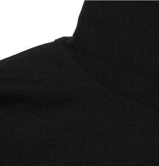 John Smedley Belvoir Rollneck Merino Wool Sweater