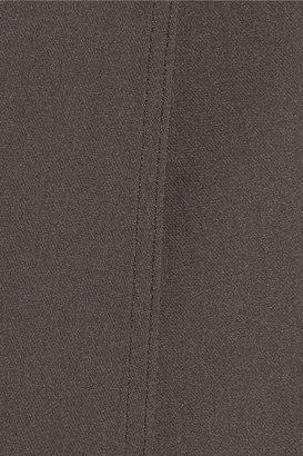 Vince Wrap-effect silk top
