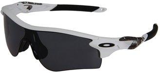 Oakley Radarlock Polarized (Matte White w/Grey Polarized) - Eyewear