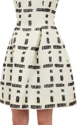 Fendi Nubby Tweed Dress