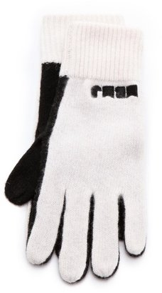 Marc by Marc Jacobs Colorblock Sweater Gloves