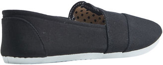 Wet Seal Zoey Canvas Slip On