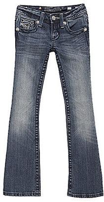 Miss Me Girls 7-16 Medieval Fleur-de-Lis Bootcut Jeans