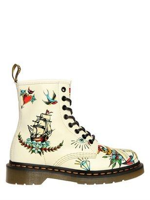 Dr. Martens 30mm Louie Calf Tattoo Boots