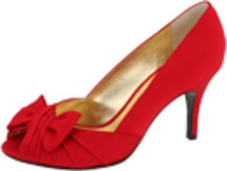 Nina Women's Forbes Satin Peep-Toe Pump