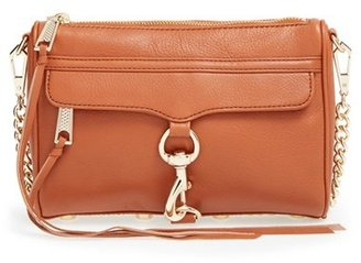 Rebecca Minkoff 'Mini Mac' Convertible Crossbody Bag - Brown $195 thestylecure.com