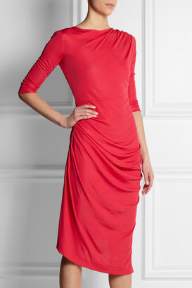 Vivienne Westwood Melita gathered stretch-jersey dress