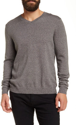 WALLIN & BROS V-Neck Long Sleeve Sweater $59.50 thestylecure.com