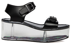 Y.R.U The Qloud Lucite Platform in Black