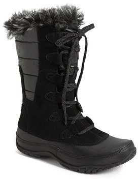 Women's The North Face 'Nuptse Purna' Waterproof Primaloft Eco Insulated Winter Boot $129.95 thestylecure.com