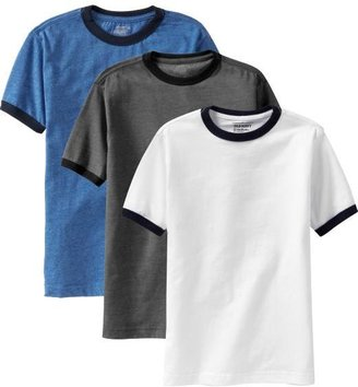 Old Navy Boys Ringer-Tee 3-Packs