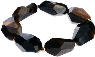 Talullah Tu Agate Facet Stone Bracelet