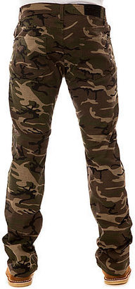 Camo BLKWD The Skinny OPS 1 Ripstop 5PKT Pants in Olive
