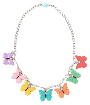 Crazy 8 Butterfly Charm Necklace