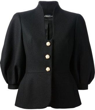 Alexander McQueen Puff Sleeve Jacket