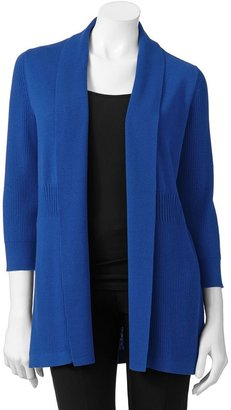 212 Collection Ribbed Open-Front Cardigan - Women's