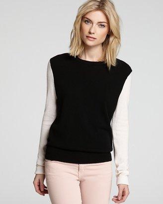 Equipment Sweater - Color Block Shane Cashmere