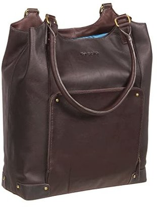 Solo New York Vintage 16 Leather Bucket Tote