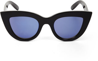 BCBGMAXAZRIA Novelty Cat-Eye Sunglasses