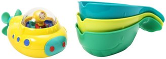Munchkin Undersea Explorer Sub and Pour & Strain Whales Bath Toy