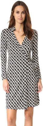 Diane von Furstenberg New Jeanne Two Wrap Dress $398 thestylecure.com