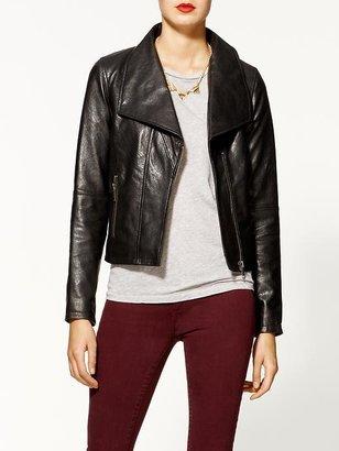 Joie Steele Leather Jacket