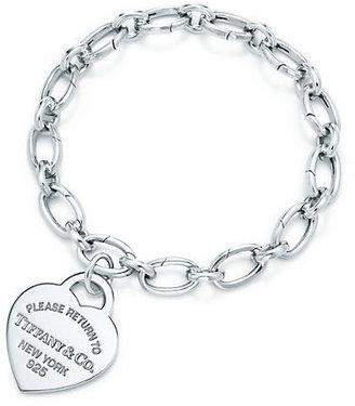 Tiffany & Co. Return to TiffanyTM:heart tag charm and bracelet